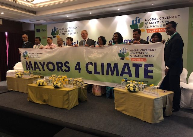 Global Covenant of Mayors launches regional chapter in South Asia to help build more climate resilient cities